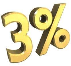 3percent